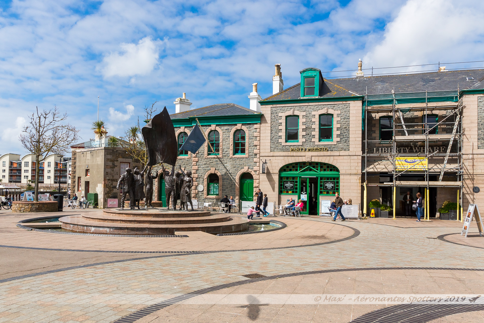 Jersey - Saint Helier - Liberation Square