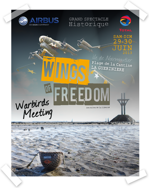 Affiche Wings Of Freedom