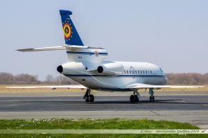 Falcon 900 (CD-01) Belgium Air Force