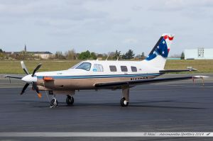 Piper PA-46 350P Malibu Jetprop DLX (N446SB) Le Bon Air