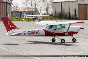Cessna F152 (F-GMOU) Aéroclub du Poitou