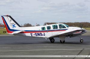 Beech 58 Baron (F-GNSJ) Direction Générale de l'Aviation Civile