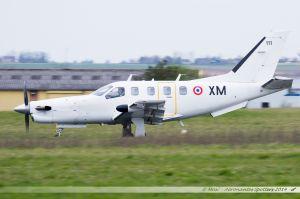Socata TBM 700 (111/XM) Armée de l'Air française