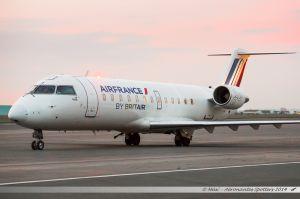 Bombardier CRJ100 (F-GRJT) Air France by Britair