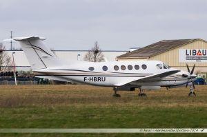 Beech B200 Super King Air (F-HBRU) Air Midi