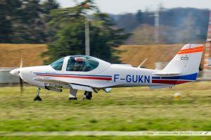 Grob G-120A-F (F-GUKN) Cassidian Aviation Training Services