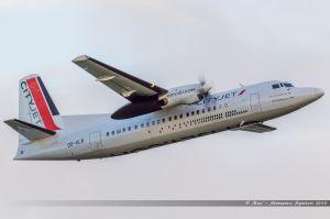 Fokker 50 (OO-VLR) Cityjet