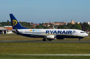 Boeing B737-800 (EI-DYF) Ryanair 'Costa Brava'