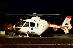 Eurocopter EC-135T-2 (F-HLCA) Helicap