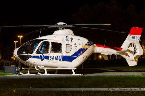 Eurocopter EC-135-T2 (F-HLCD) Samu86
