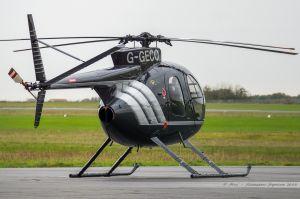 Hughes 369HS (G-GECO) Private