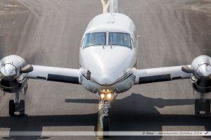 Beechcraft B200 (F-HBRU) Air Midi