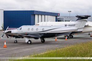 Pilatus PC12 (M-HARP) Private