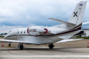 Cessna Citation 560XLS (LX-INS) Luxaviation