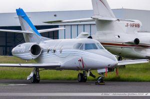 Dassault Falcon 10 (F-GTOD) Darta Aéro Charter