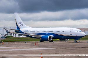 Boeing 737-39A(WL) (N444HE) Jim Baroni