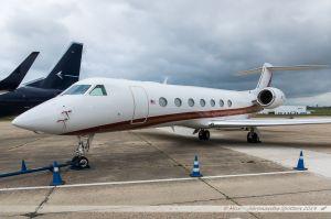 Gulfstream G550 (HB-JKI) Malaysian Jet Services