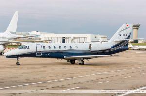 Cessna 680 Citation Sovereign (CN-TLA) Silver Cloud Aviation