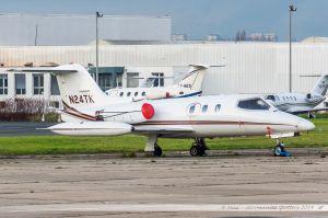 Bombardier Learjet 24D (N24TK) Baja Jets