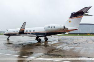 Gulfstream G550 (EC-LYO) Gestair