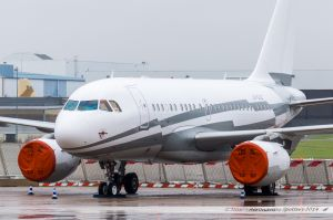 Airbus A318ACJ (LX-GJC) Global Jet