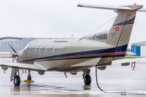 Pilatus PC12 (F-HANN) Unijet