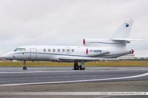 Dassault Falcon 50 (F-HDPB) Berlys Aviation