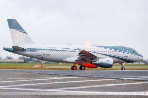 Airbus A319ACJ (VP-CMJ) Aviation Link Company