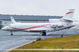Dassault Falcon 7X (OO-ABC) Flying Group