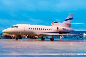 Dassault Falcon 900EX (F-HAXA) Axa Banque et Assurances