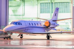 Cessna 560XLS Citation XLS (LX-NAT) Luxaviation