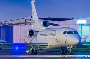 Dassault Falcon 7X (OO-LMG) Abelag Aviation