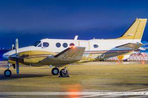 Beechcraft 90 King Air (F-GETJ) Chalair Aviation