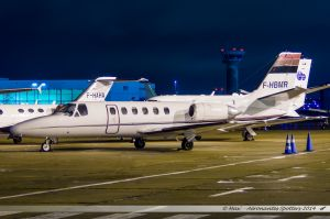 Cessna 550 Citation II (F-HBMR) Valljet