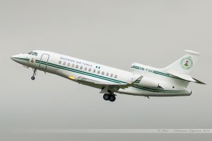 Dassault Falcon 900 (5N-FGV) Nigeria - Air Force