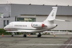 Dassault Falcon 2000EX (VP-CBC) Jet Aviation Charter UK