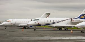 Bombardier Challenger 300 (OE-HRR) Amira Air