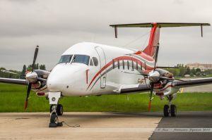 Beechcraft 1900D (F-HETS) Chalair opf Ministère de l'Intérieur