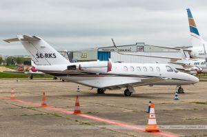 Cessna Citation 525 (SE-RKS) Bluelink Jets