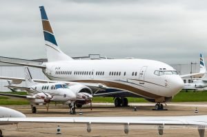 Boeing B737-700AW-BBJ (VP-CPA) Private