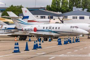 British Aerospace BAe 125-700A (M-JCPO) Saucar Ltd