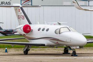 Cessna Citation 510 Mustang (OE-FZB) Globe Air