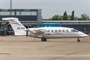 Piaggio P-180 Avanti (OK-PIA) Icarus Aviation