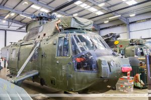Westland Sea King HC4 (ZA292/WU) Royal Navy
