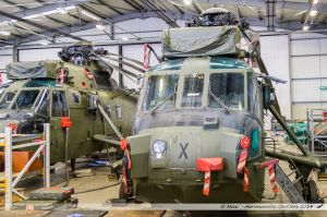 Westland WS-61 Sea King (ZF117/X) Royal Navy