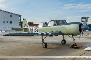 Yakovlev Yak-52 (G-RNAC/123) RN Aero Club