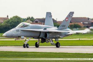 McDonnell Douglas F/A-18C Hornet (J-5005) Swiss Air Force