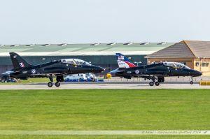 British Aerospace Hawk (XX217/217) %26 British Aerospace Hawk (XX281/281) Royal Air Force