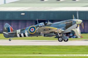 Supermarine 361 Spitfire LF9C (MK356) Battle of Britain Memorial Flight