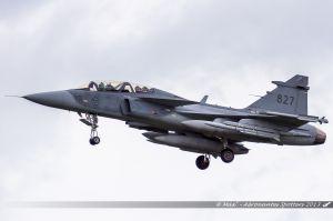 Saab JAS 39D Gripen (827) Swedish Air Force